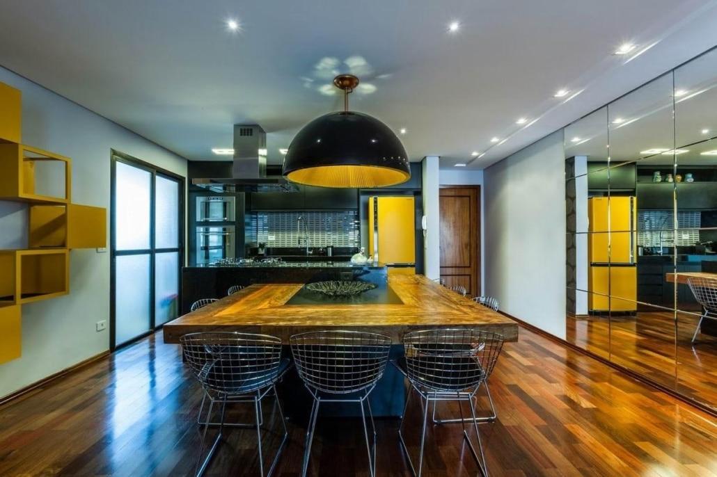 Como usar cores escuras na decoração da sua casa